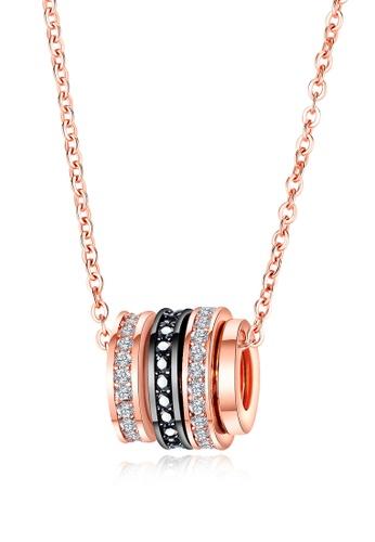 Trendyshop gold Lady's Pendant Necklace C21FFAC77B15C3GS_1