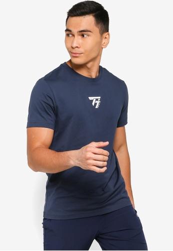 361° navy Cross Training Short Sleeve T-Shirt 01579AAEC8881DGS_1