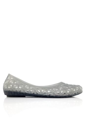 Twenty Eight Shoes grey Sexy Jelly Rain and Beach Sandals VR4165 C7546SHAAB7158GS_1