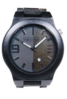 Ebony Weightless Wooden Watch