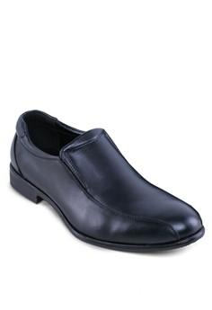 Leather Dress Slip Ons