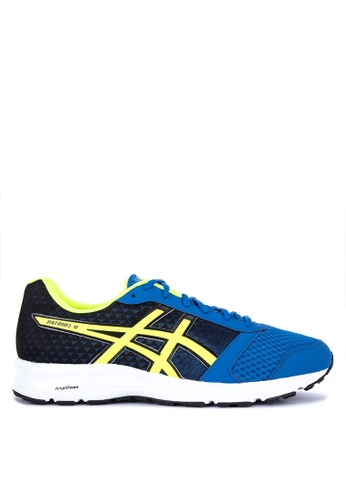 Asics blue and multi Patriot 9 Running Shoes 7C2FFSH292E103GS_1