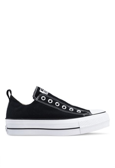 a40aad3169053 Converse black and white Chuck Taylor All Star Lift True Faves Ox Sneakers  A1C90SHD4D1B19GS 1
