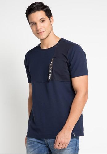 X8 navy Alvaro T-Shirts A9EBDAA0D530D4GS_1