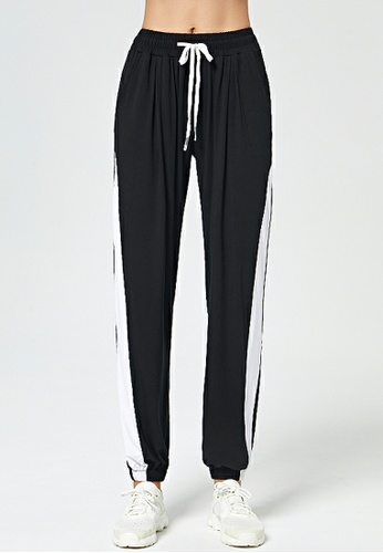 HAPPY FRIDAYS Side Stripe Yoga Sweatpants DK-YDK05 5B7ABAA886799FGS_1