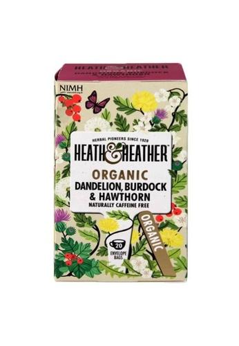 Holland & Barrett Heath & Heather Organic Dandelion, Burdock & Hawthorn 20 Tea Bags 5111EESAB0108CGS_1