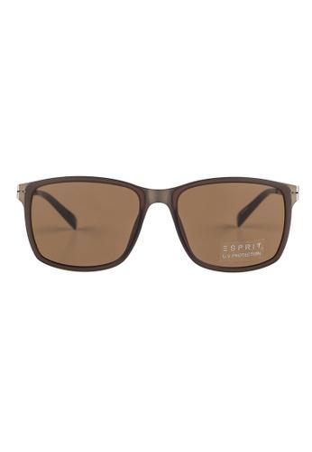 ESPRIT ESPRIT Square Brown Sunglasses ET17921 ES374AC75FZWMY_1