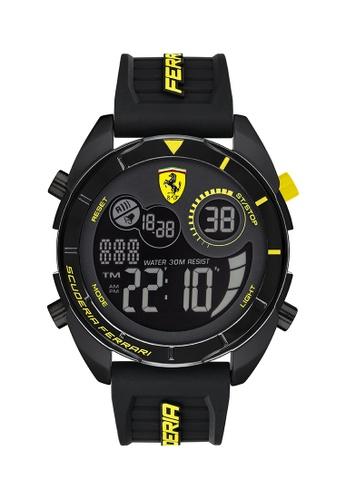 Scuderia Ferrari black Scuderia Ferrari Forza Black Men's Watch (830744) 15D94AC33E9F9FGS_1