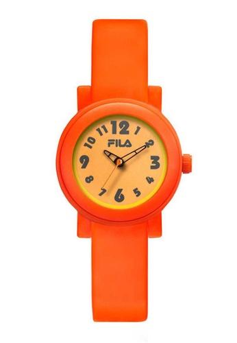 FILA Watches orange Fila Orange Rubber Watch 4513DAC128C778GS_1
