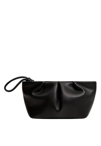 Mango black Quilted Cosmetic Bag D0B2FAC1C8C7E6GS_1