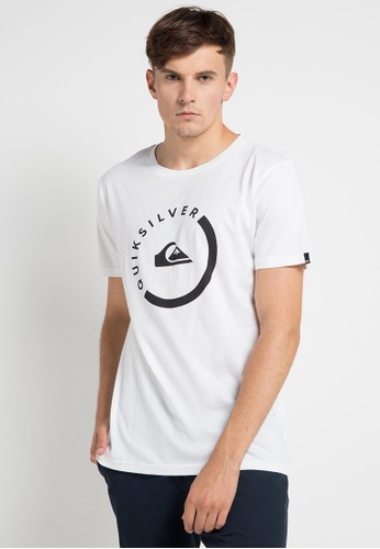 Quiksilver white and multi As Slab Session T-Shirt 82D2FAAF39EAC4GS_1