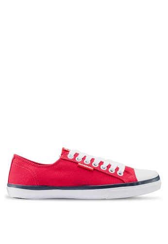 Superdry red Low Pro Sneakers E3768SH7FBD15CGS_1