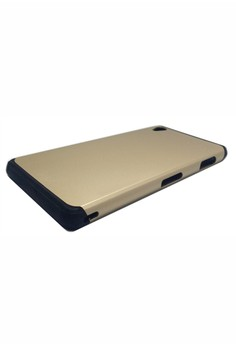 Sleek Shockproof Case for Sony Xperia Z3 (Gold)