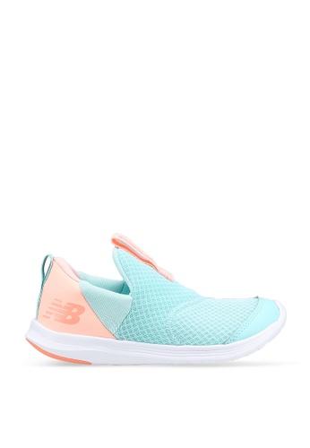 New Balance blue Kids Steps Shoes 6B668KSE3AE6AAGS_1