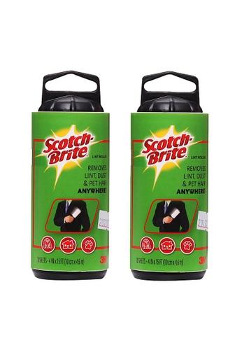 Scotch-Brite 3M Scotch Brite Lint Roller Refill 30 SHEETS [836RF-30] [Bundle of 2] 45F4FHL8B93BDDGS_1