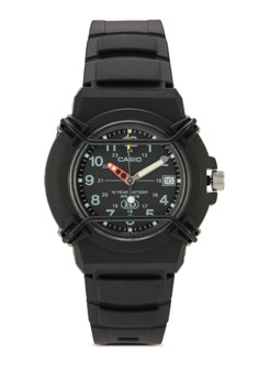 Casio Enticer Analog Black Dial Men's Watch - HDA-600B-1BVDF