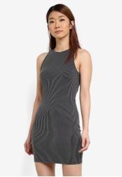 Something Borrowed black Striped Tank Dress 33BE7AA06CDEC8GS_1