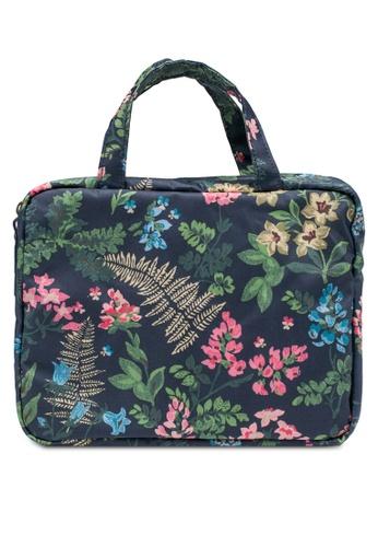 Cath Kidston navy Twilight Garden Two Part Wash Bag 4CDB4AC070E7F1GS_1