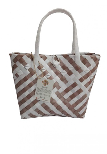Oh My Bag multi Modern Bayong Tote Handy Size with Lock 67301AC7C40807GS_1