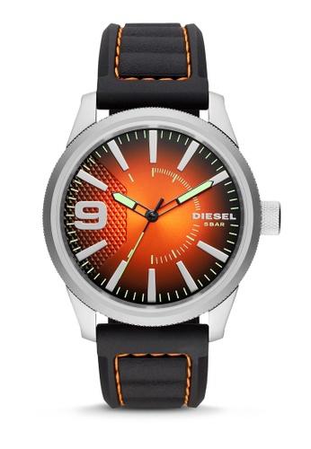 Diesel black Rasp NSBB Silicone Watch DZ1858 8B958AC4F53C55GS_1