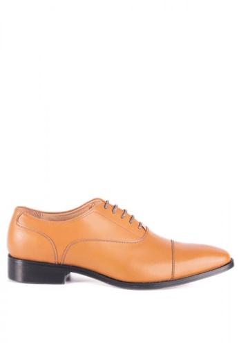Bristol Shoes brown Berkley Tan  Captoe Oxford BR842SH63KCMPH_1