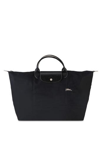 LONGCHAMP black Le Pliage Club Travel Bag L (nt) 8A6AFACD5A0AB6GS_1