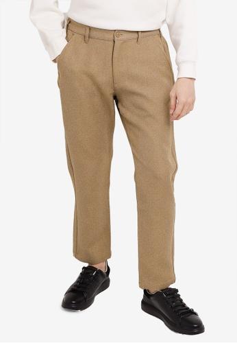 niko and ... brown Casual Pants E2BF1AA1F35DC6GS_1