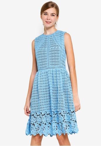 4cfb38c11d4e Buy Dressing Paula Paneled Guipure Lace Dress