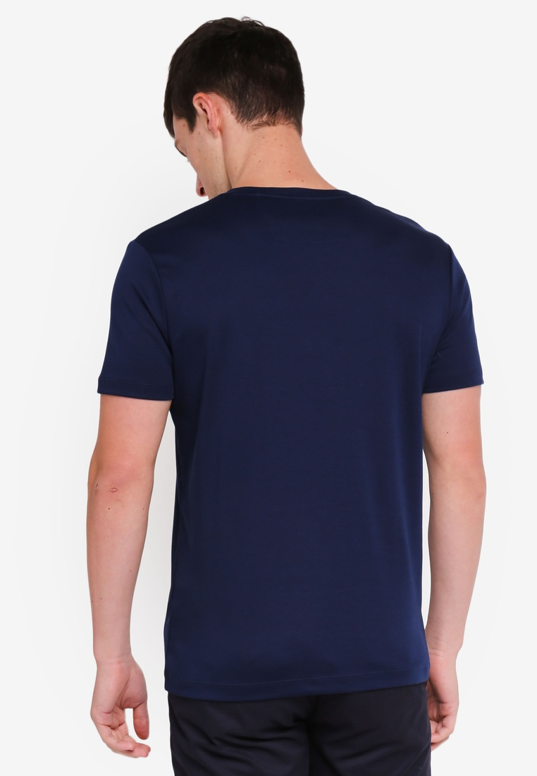 Navy Banana Lux Solid Republic Tee wvq6x4HZ