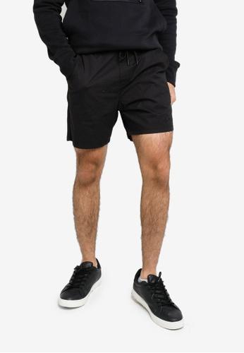 Hollister black Jogger Shorts 0677AAA552FB01GS_1