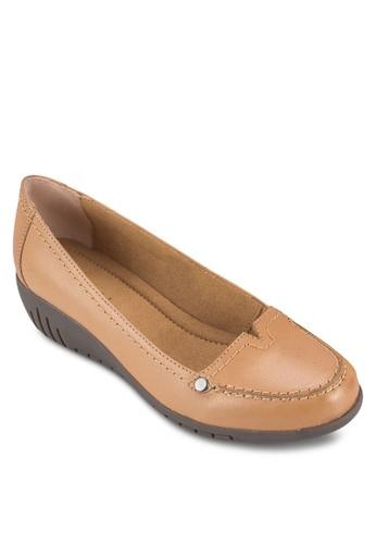 Gale II 皮革楔型esprit官網鞋, 女鞋, 鞋