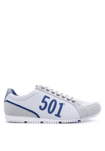 Levi's grey Morris 501 Sneakers LE892SH16PTFPH_1