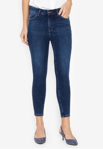 6997fd3f Shop Wrangler High Rise Skinny Ankle Cut Jeans Online on ZALORA ...