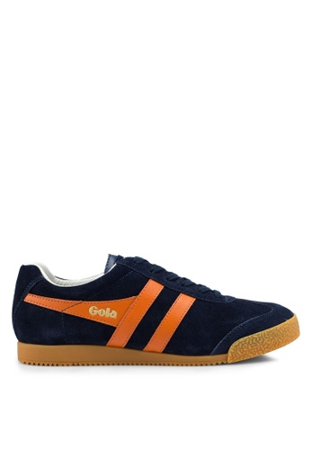 Gola multi and navy Harrier Sneakers 964A8SH3AF4191GS_1