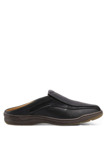 Louis Cuppers black Casual Slip Ons 1A8D3SHA066FA9GS_1