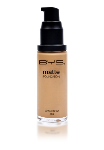 BYS beige Matte Liquid Foundation BY206BE62NGRPH_1
