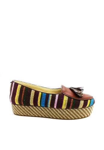 anca brown Anca Flat Shoes WK 01 BROWN AN027SH60QDJID_1
