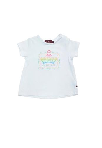 AIGNER KIDS white AIGNER BABY GIRLS LOGO T-SHIRT 9EC95KA7AEA801GS_1