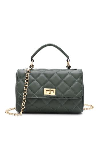 Volkswagen green Women's Hand Bag / Top Handle Bag F64A9AC3A386D5GS_1