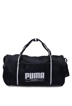 a81c4b8ec4f41 PUMA black Women Core Base Barrel Bag 38FEFAC9CC7545GS_1