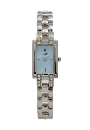 Alba silver ALBA Jam Tangan Wanita - Silver Blue - Stainless Steel - AC3P51 788AEACDA2C82BGS_1
