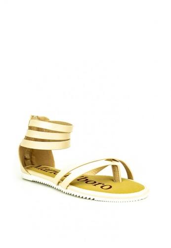 Mario D' boro Runway beige Jana Sandals A22B1SH2A67C72GS_1