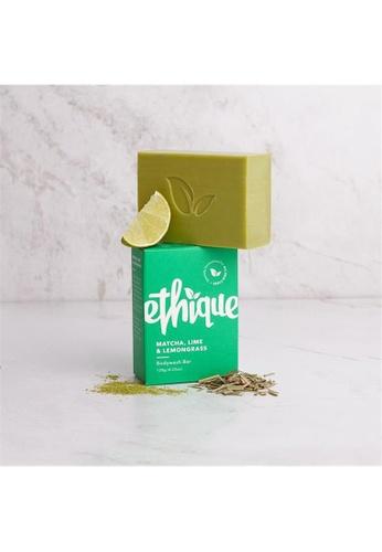 Holland & Barrett Ethique Matcha, Lime & Lemongrass Bodywash Bar 120g 3078DES04115A3GS_1