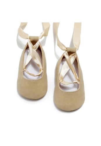 RAISING LITTLE gold Arabella Shoes - Gold 4F653KSD73AF41GS_1