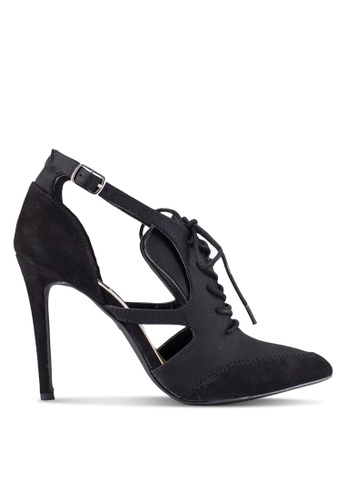 ZALORA black Lace Up Heels 03821ZZ3965915GS_1