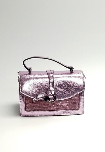 Lara purple Women's Small Top-Handle Sling Bag B7273AC13C7FB6GS_1