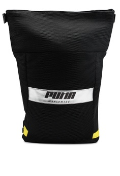 dcf6e3533b PUMA black Prime Street Rolltop Backpack 1F314AC3FA4BC8GS 1