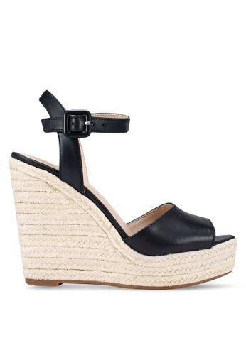 ALDO 黑色 Ybelani 楔型鞋 88DEBSH38B9CEAGS_1