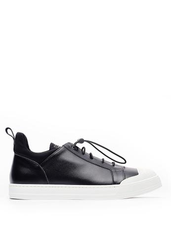 Life8 black Casual Italian Luxury Style Sneaker-Black-09814 0EC48SH00A5E60GS_1