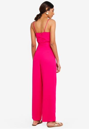 659643b0fd70 Buy Dorothy Perkins Strappy Jumpsuit Online on ZALORA Singapore